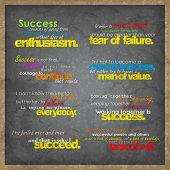 Set Of Motivational Background