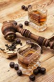 pipe whiskey vintage style