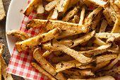 Healthy Organic Jicama Fries