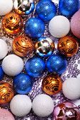 Christmas-tree sparkling decorations for beautiful holiday