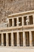 foto of hatshepsut  - The temple of Hatshepsut near Luxor in Egypt - JPG