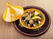 Tajine, Moroccan Chicken With Lemon Confit