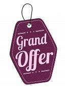 Grand Offer Leather Label Or Price Tag