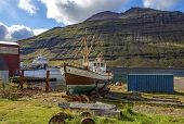 Old Fishing Boat In Iceland2