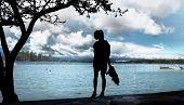 View At Garda Lake.
