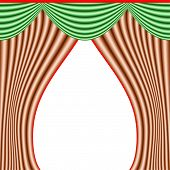Curtain With Clipping Path