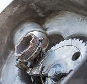 Motorcycle Gearwheel