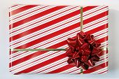stock photo of gift wrapped  - A gift - JPG