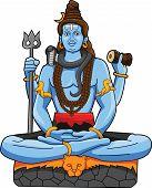 pic of shiva  - God Shiva Editable  - JPG