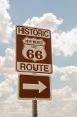 New Mexico Us Route 66 Sign
