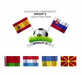 2016 Soccer Championship Group C Qualifying Draw
