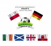 2016 Soccer Championship Group D Qualifying Draw