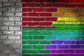 Dark Brick Wall - Lgbt Rights - Madagascar