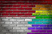 Dark Brick Wall - Lgbt Rights - Monaco