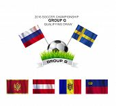 2016 Soccer Championship Group G Qualifying Draw