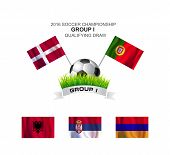 2016 Soccer Championship Group I Qualifying Draw