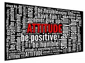 picture of humble  - Attitude in word collage - JPG