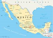 Mexico Political Map