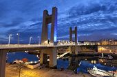 image of brest  - Recouvrance Bridge  - JPG