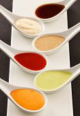 different kinds of sauce