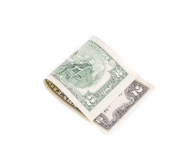image of two dollar bill  - Two dollars bill - JPG