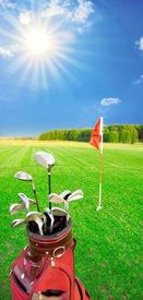 image of golf bag  - Golf game - JPG
