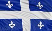 3D Quebec  Flag