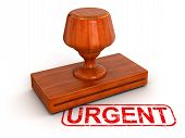Rubber Stamp Urgent