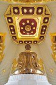 Behind Buddha