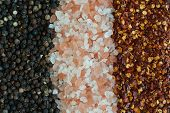 stock photo of chili peppers  - salt - JPG