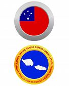 Button As A Symbol Samoa