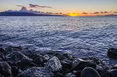 Maui Sunset At Shore