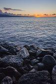 Big Rocks On Maui Beach