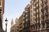 Via Laietana, Barcelona, Catalonia, Spain