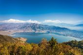 Phewa Lake And Annapurna