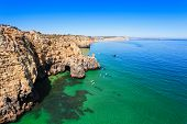 foto of lagos  - Ponta da Piedade in Lagos Algarve region in Portugal - JPG