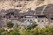 pic of ellora  - Ajanta caves near Aurangabad Maharashtra state in India
