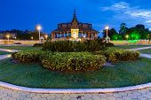 Royal Palace at night