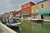 Small Canal In Murano