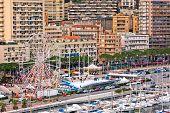 Monaco Harbour, Monte Carlo, View