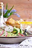 Salad Of Radish And Cucumber