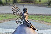 Forest Fairy Statue. Kaliningrad, Russia