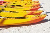 Canoe On Sand