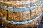Close-up Wine Barrel