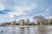 picture of rebuilt  - The Temple of Debod  - JPG