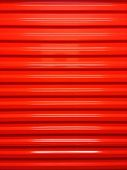 image of self-storage  - A red door in a self storage facility - JPG