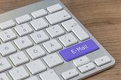 E-mail On Modern Keyboard