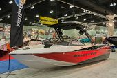 Wakesetter Boat On Display