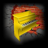 Yellow Piano