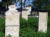 die Remuh-Friedhof in Krakau Polen